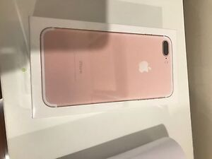 Brand new iPhone 7 PLUS 256GB Rose Gold, Gold color. Ryde Ryde Area Preview