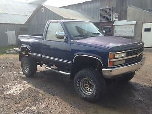 1990 GMC SIERRA 1500 4x4  PROJECT / Trade for Zero Turn.