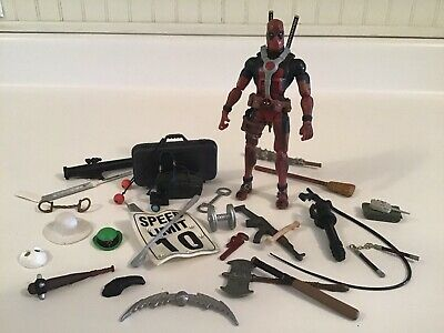 "Hasbro Marvel Legends 6"" Deadpool TRU 2 Pack Warpath BUY ME, I'M BRINGING STUFF!"