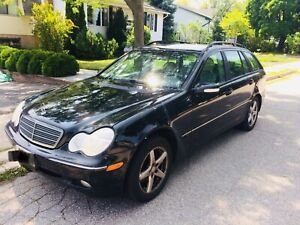 Mercedes C240 WAGON winter+summer tires