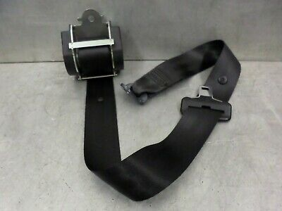 Peugeot 407 SW Estate Rear Middle Centre Seat Belt Black 04-10 Reg 96440737XX