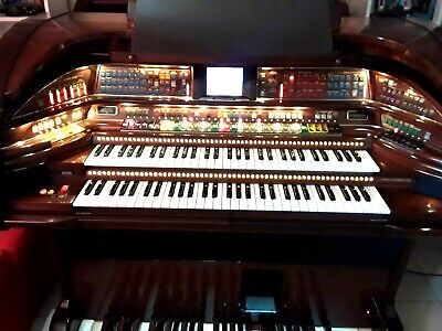 GORGEOUS Lowrey STARDUST organ with TOUCH / COLOR screen !!!! ( mahogany wood)