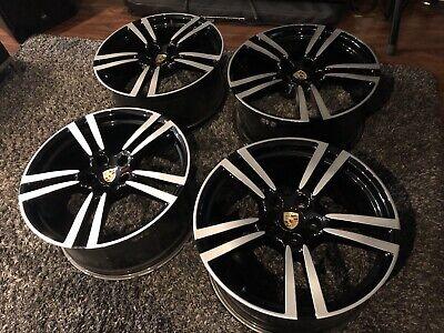"""21"""" Porsche Cayenne Turbo II OEM wheels 958"""