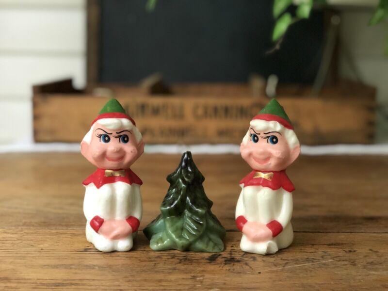 Vintage Elf Wax Unused Christmas Candles Vintage Christmas Tree