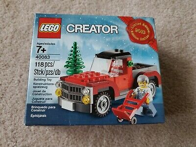 LEGO Creator Christmas Tree Truck 2013 Limited Edition - Sealed Box