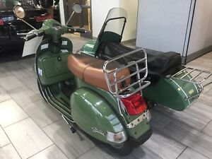 "2012 Vespa ""STELLA"" 150 with Sidecar"