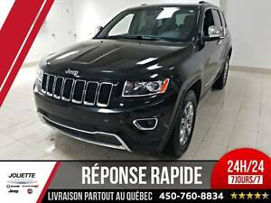 2015 Jeep Grand Cherokee Limited, 4X4, CUIR, TOIT,