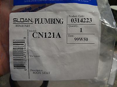 (SLOAN CN121A MAIN SEAT FOR PISTON SHOWER VALVE NAVAL FLUSHOMETER 0314223)