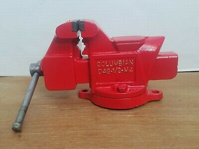 Vintage Columbian Swivel Bench Vise D43 12 M4