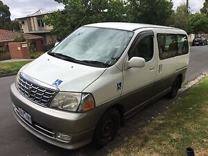 2001 Toyota Grand Hiace - Wheelchair Box Hill Whitehorse Area Preview