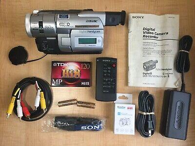 Sony Handycam DCR-TRV103 Digital-8 Hi-8 Camcorder  Video Transfer