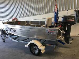 4.2 meter tinny - 2015 Quintrex BUSTA 420 - 30hp Yamaha motor Annerley Brisbane South West Preview