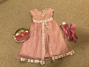 Cinderella Dress with fairy wings, size 2-3