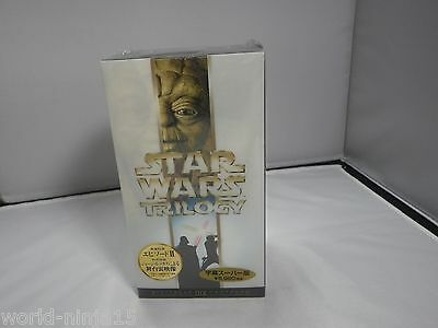 Star WarsTrilogy VHS NEW Unopend JAPAN Ver From Japan Limited Edition Subtitled