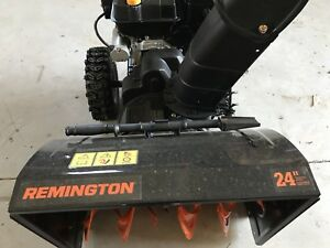 Remington slowblower