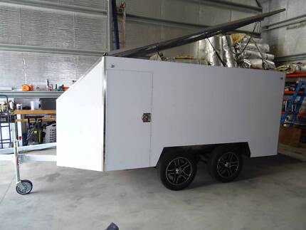 6 x 11ft Fully Enclosed Motorcycle Trailer