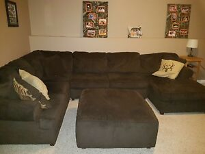 7 person Sectional and Lazy boy