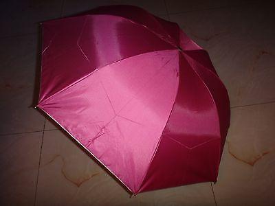 NEW Cute Super Mini Compact 3 Folding Rain SUN Umbrella for