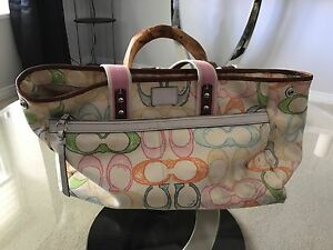 Well used, COACH Tote Bag
