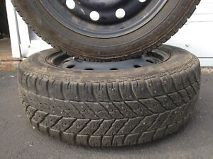 5 stud winter tires with rims