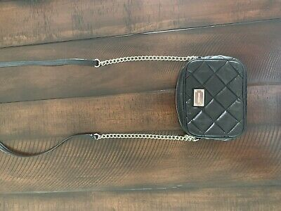 Michael Kors Crossbody Black Quilted Bag Handbag Purse Wallet Organizer