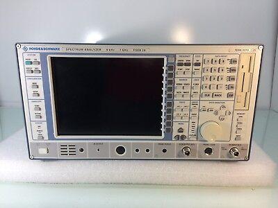 Rohde Schwarz Fseb20 Spectrum Analyzer 9khz - 7ghz W Opts B10 B4