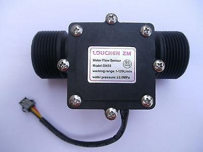 G1-14 1.25 Water Flow Flowmeter Counter Hall Sensor Switch Meter 1-120lmin
