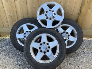 3 tires 265/60r20 on gm 8 bolt rims with 1 loose rim