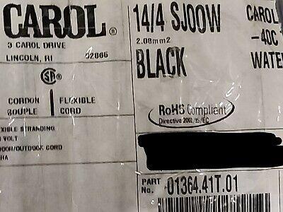 Carol 01364 144c Carolprene Sjoow 300v Portable Power Cable Cord Cable 25ft