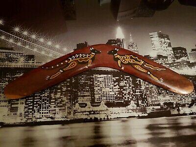 Australian Aboriginal Boomerang 20inch Hand Painted.