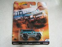1988 Jeep Grand Wagoneer Hot Wheels Desert Rally Car Culture 1:64 OVP RR