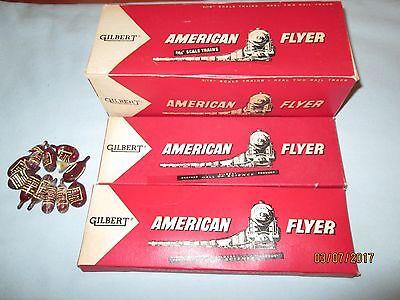 Scarce American Flyer #23025 Dealer Box w/2 Individual Smoke Cartridge Boxes