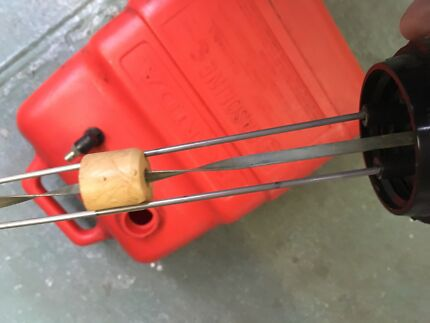 Honda 25L fuel drum with gauge