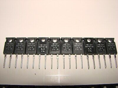 Caddock Mp816 2.4 Ohm 1 Presision Power Resistor To-220 Qty 10