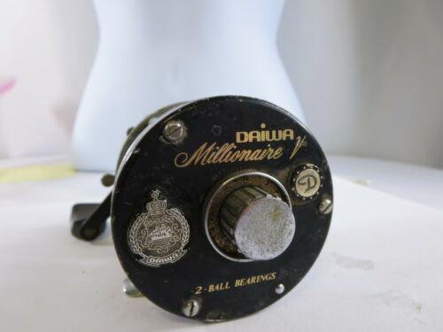 Vintage Daiwa Millionaire V Baitcasting 2 Ball Bearing Reel KCA2