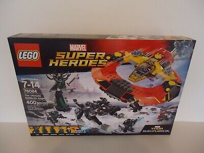 Lego Marvel Super Heroes 76084 The Ultimate Battle for Asgard New in Sealed Box!