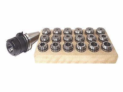 Spannzangensatz ER32/470E + 1x Aufnahme DIN69871 SK40 Spannzangen Spannzange