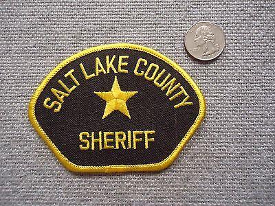 "Salt Lake County Sheriff Patch 4"""