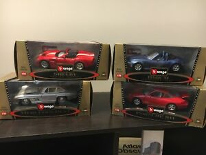 Burago Model Die-cast cars