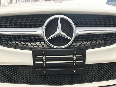 LICENSE PLATE HOLDER MOUNTING RELOCATOR ADAPTER BUMPER BRACKET for MERCEDES-BENZ ()