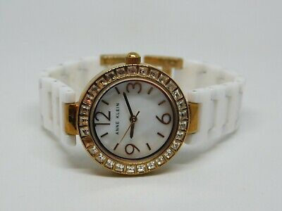 Anne Klein AK/1660 Ceramic Quartz Analog Ladies Watch