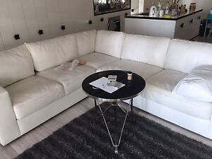 Large leather sofa set near new condition Haymarket Inner Sydney Preview