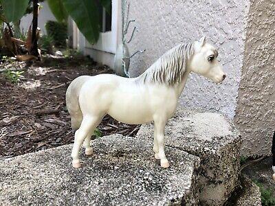 Vintage Breyer Horse #25 Glossy Alabaster Shetland Pony Pink Nose Variation Exc!