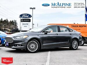 2015 Ford Fusion Titanium/ AWD/ NAVI/ MOONROOF AND MUCH MORE