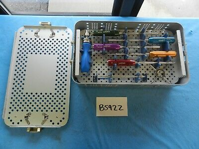 Arthrex Surgical Orthopedic Graftbolt Instrument Set W Case Ar-5100s