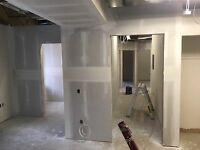 Drywall taping and finishing