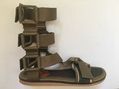 $280 Bernhard Willhelm X Camper 18512-001 Together Sandals Shoes US 8 EU 41 Army for sale  Shipping to United States