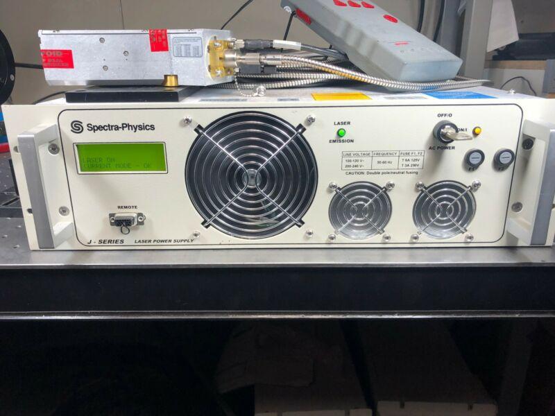 Spectra Physics Q-Switched DPSS Laser 1064nm >4W, 80ns, 20uJ @ 200KHz J20I-VHP80