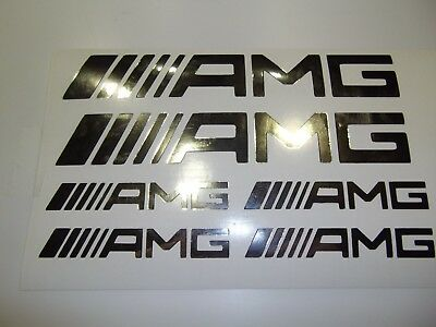 AMG Mercedes Logo Aufkleber Bogen Tattoo Styling Decal Vinil