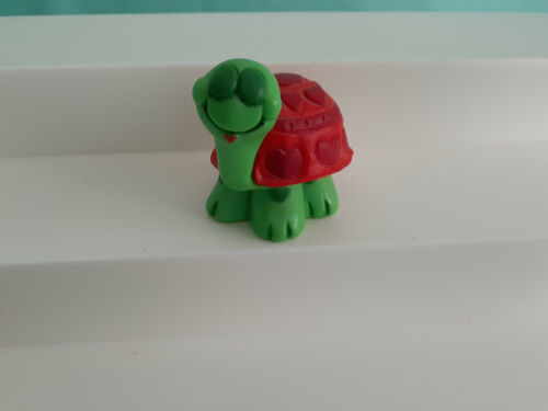 1980 Hallmark Valentine Turtle With Hearts Merry Miniature